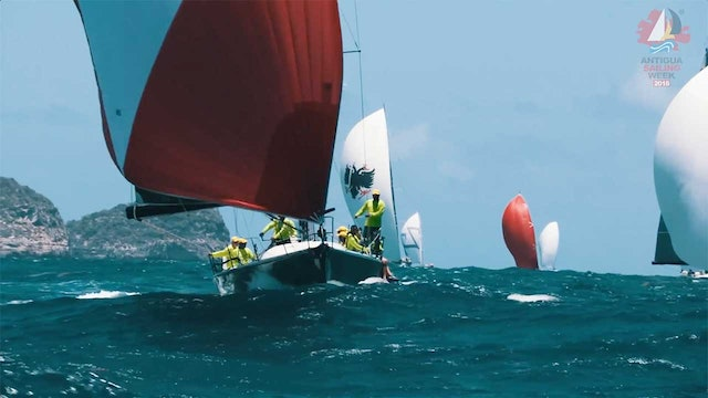 Antigua Sailing Week 2018 - English Harbour Rum - Race Day 1