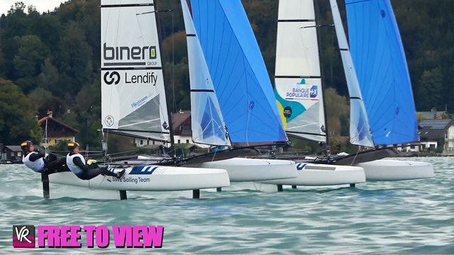 F2V - 49er - 49erFX - Nacra 17 Europeans 2020 - Day Two