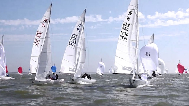 Etchells World Championship 2016 - Day Three