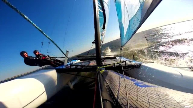 UKCRA Squad sailors trial the new Nacra 15