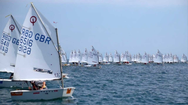 2018 Optimist British National and Open Championship - Day One