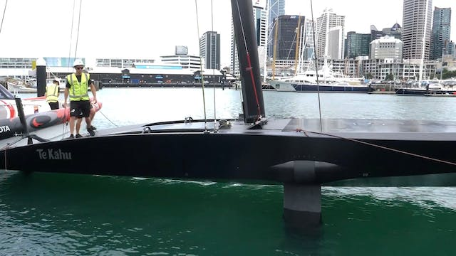 Emirates Team NZL - Te Kahu Launch Day