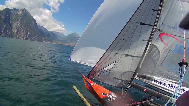 2016 18ft Skiff European Championships - Lake Garda