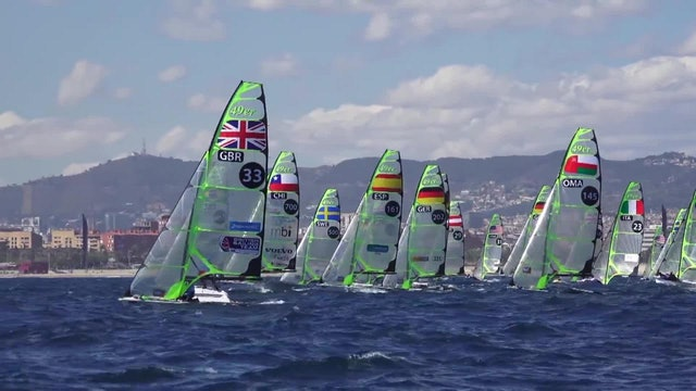 49er & 49erFX European Champs 2016 - Day 1