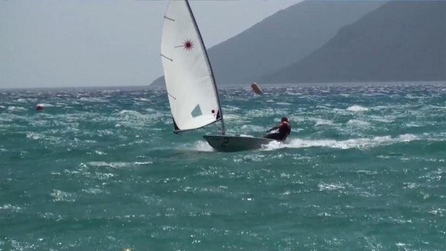 High Speed Laser Sailing - Rob Spencer Legend!