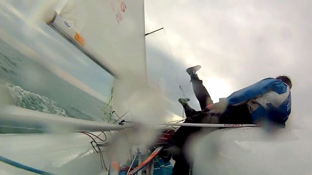 Sailing Team Eklund & Stenman - 420 Tack Fail