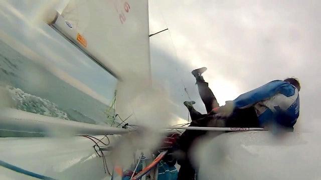 Sailing Team Eklund & Stenman - 420 Tack Fail