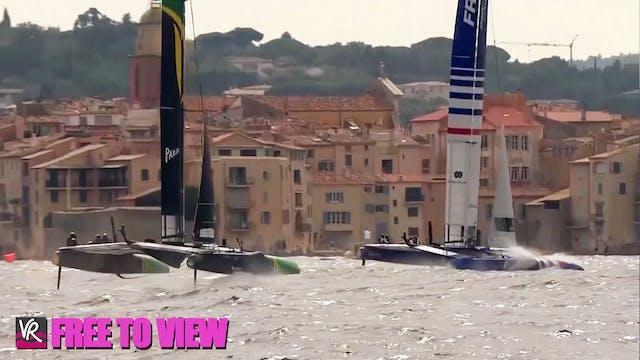 F2V - SailGP - France - Practice Day