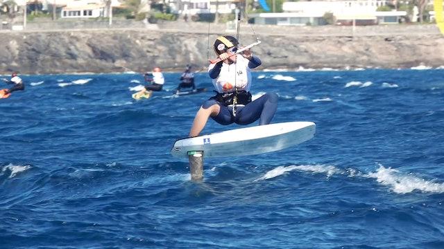 2020 KiteFoil Gran Canaria European Champs - Day Two