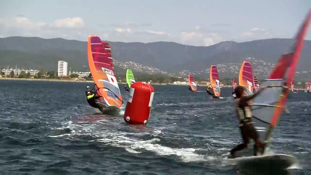 World Sailing SWC - Hyeres 2017 - RS X Highlights