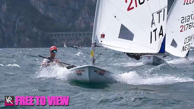 F2V - 2021 ILCA 6 Laser Radial Youth Worlds - Final Series Day 2