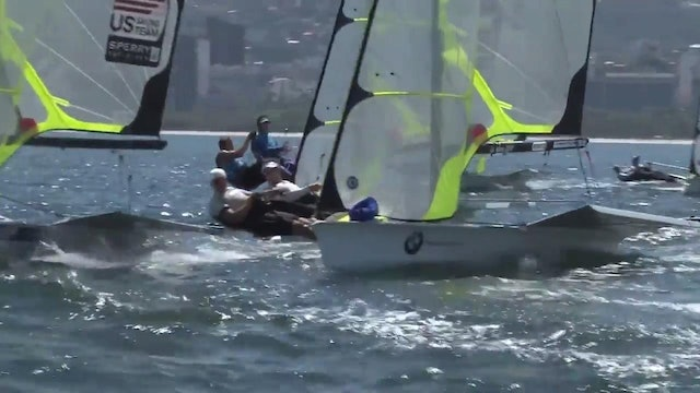 49er 2014 South Amercian Championships at Rio