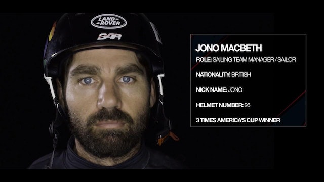 Land Rover BAR - Meet The Team - Jono MacBeth