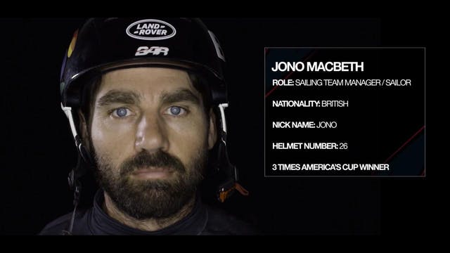 Land Rover BAR - Meet The Team - Jono...