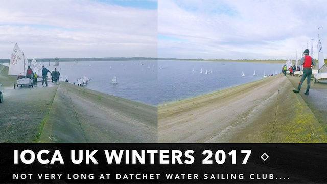 IOCA UK Winter Championships - Launching 188 Optimists
