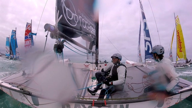 Team Maverick SSR - Tour Voile Stage 3 - Jullouville