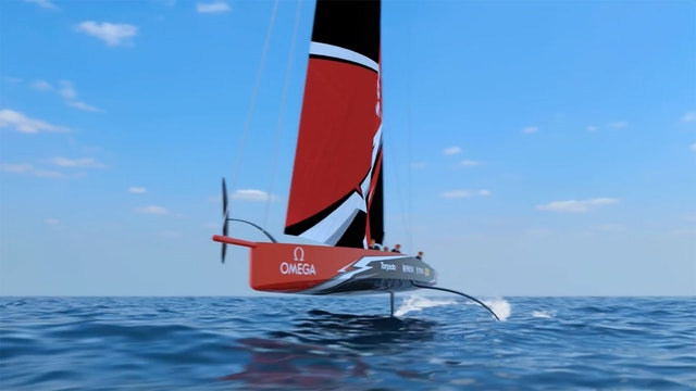 The America's Cup AC75 Boat Concept Revealed