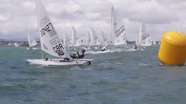 KBC Laser Radial Worlds 2016 - Day 4 ...