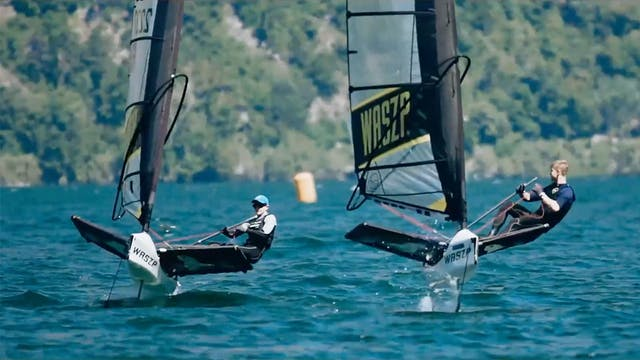 Foiling Week Garda 2019 - The Waszp