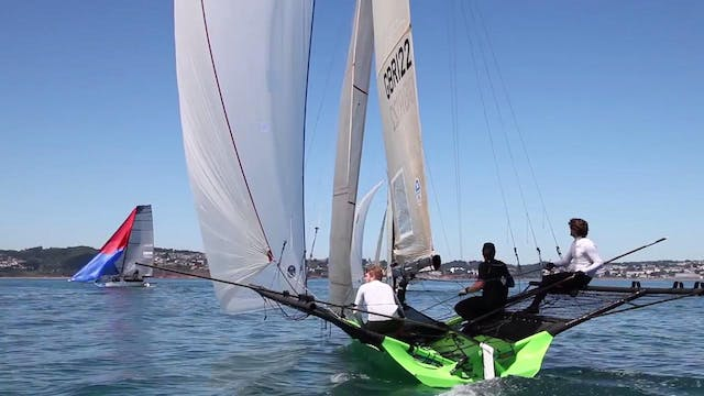 VRsport.tv Tech Talk - 18ft Skiff - T...