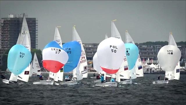 Kiel Week 2016 - 22nd June - Highlights - Battle commences for the 470s