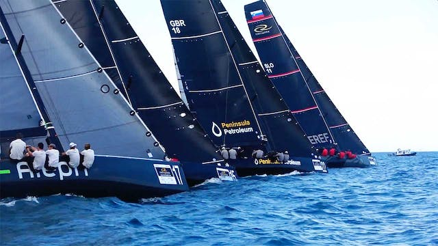 RC44 Portoroz Cup 2018 - Day Two