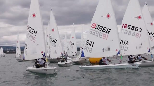 KBC Laser Radial Worlds 2016 - Day 3 ...
