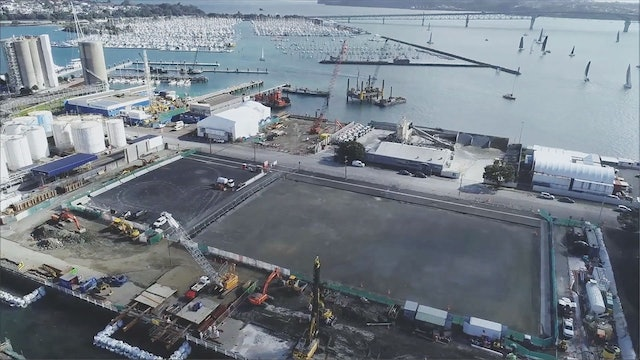 Emirates Team NZL - America's Cup Village Progress Tour