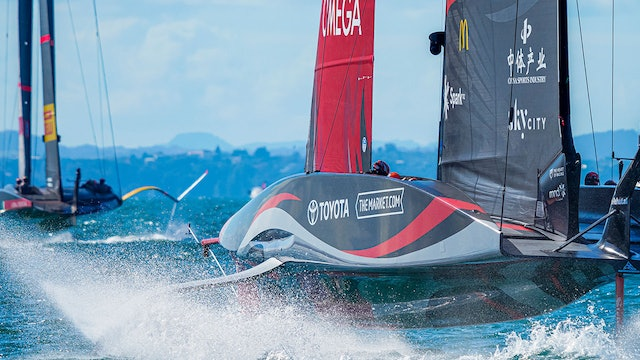 The 36th America's Cup - Day Three