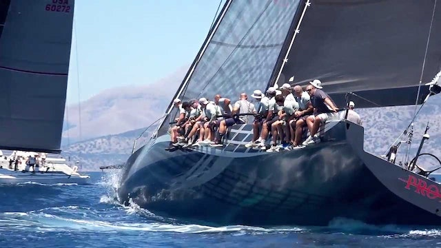 Maxi 72 - Corfu Challenge 2017 - Final Day
