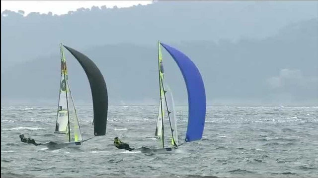 49er World Cup 2015 Medal Race Highlights at Hyeres