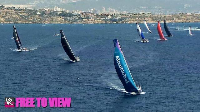 F2V - The Ocean Race Europe 2021 - Leg 3 Start