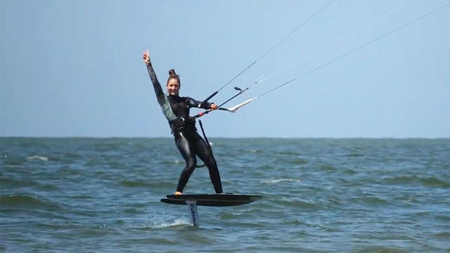How to Kitefoil with Lous
