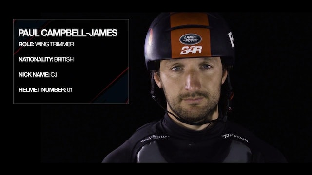 Land Rover BAR - Meet The Team - Paul Campbell-James