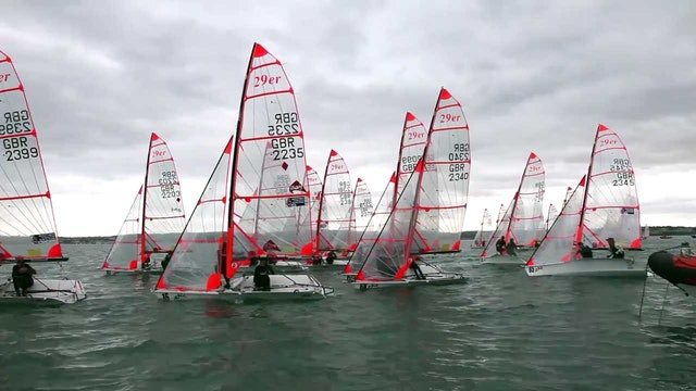 Zhik UK 29er National Championships 2016 - Day 4