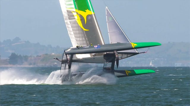 SailGP San Francisco - Carnage in the...