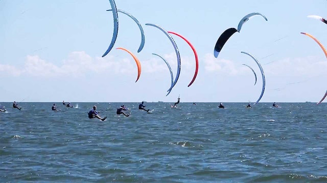 Kitefoil World Series 2018 Weifang - Day Four