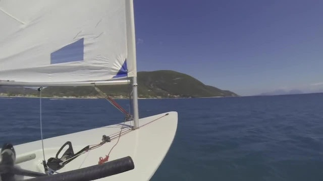 Onboard The Foiling Laser