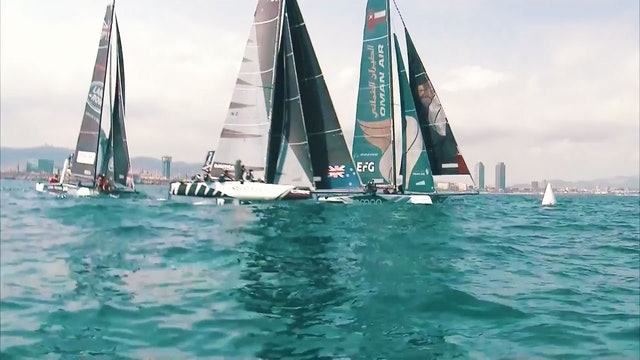 Extreme Sailing Series - Act 4, Barcelona Day Two