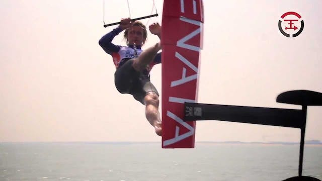 2017 KiteFoil GoldCup Weifang - Day Four