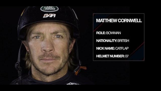 Land Rover BAR - Meet The Team - Matthew Cornwell
