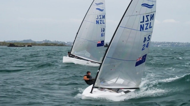 Emirates Team NZL - Junior and Maloney Racing Each Other To The Olympics