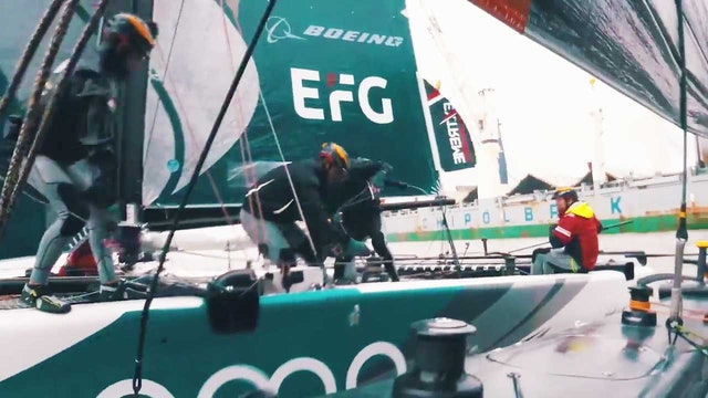 Extreme Sailing Series - Act 5, Hamburg Day Two