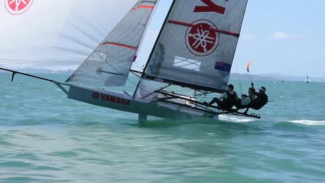 2017 18 Foot Skiff New Zealand Nation...