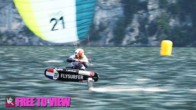 F2V - 2020 Formula Kite Mixed Team Relay Euro Champs - Day Three