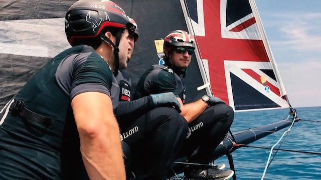 INEOS Rebels UK - Day 2 - Act 3, Extreme Sailing Series Barcelona