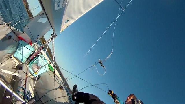 Sailing Team Eklund & Stenman - 420 Trapeze Fail