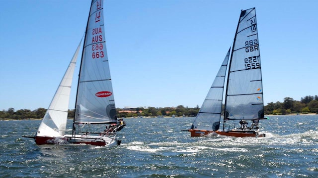 TME - i14 Perth Worlds 2020 - Team Racing - The Finals