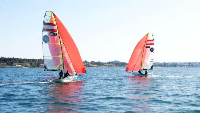 2020 49er, 49er FX & Nacra 17 Oceania Champs - Day Zero
