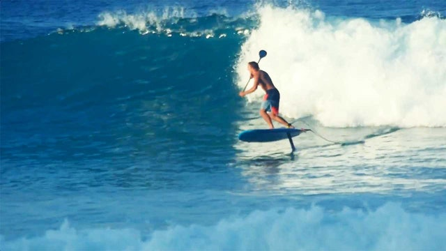 Foil Surfing Noosa - Sky Surfing